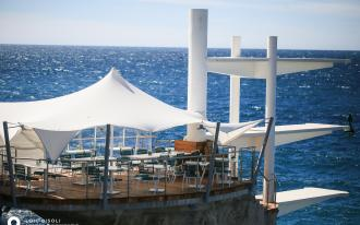 Le Plongeoir à Nice : en cinémascope