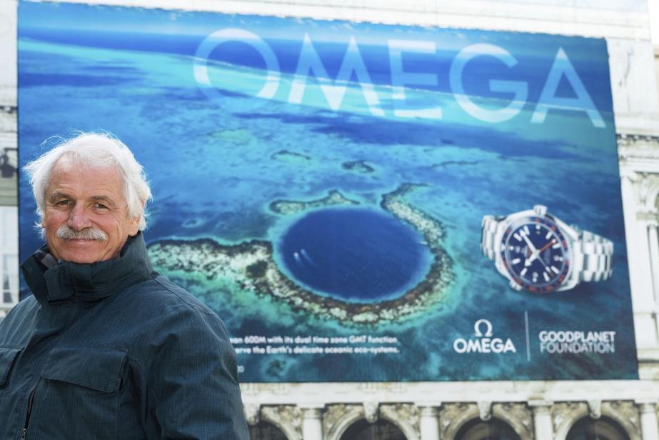 Conférence, expo et film : Yann Arthus-Bertrand à Monaco