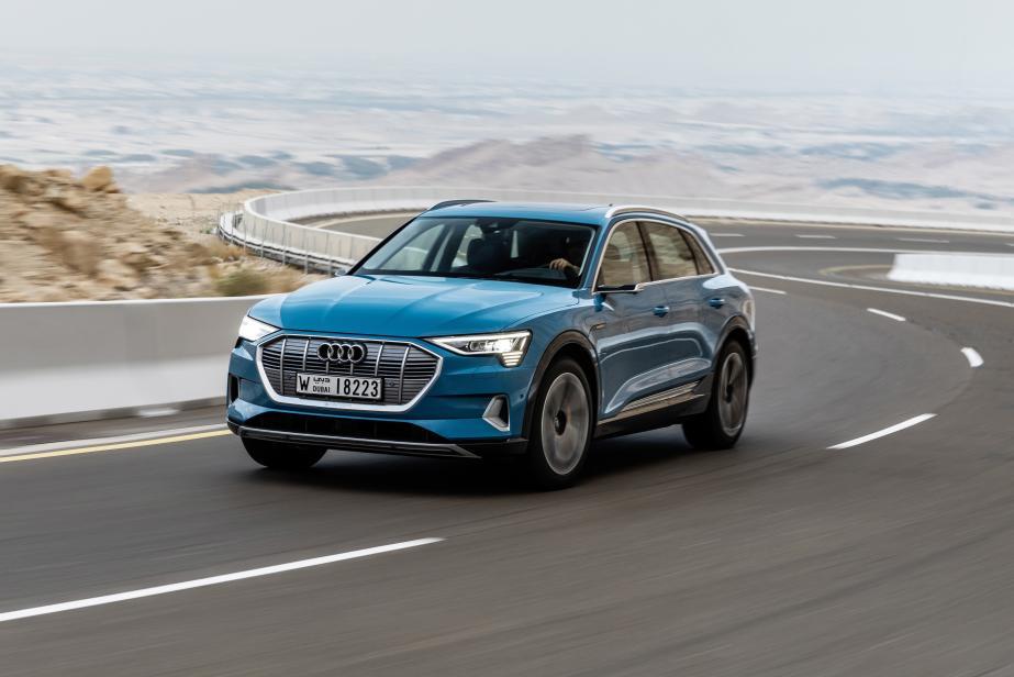 Audi e-tron : l'offensive électrique