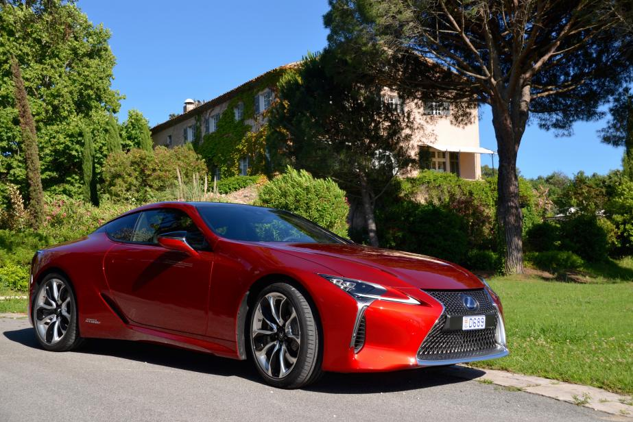 Lexus LC 500h : coupé star