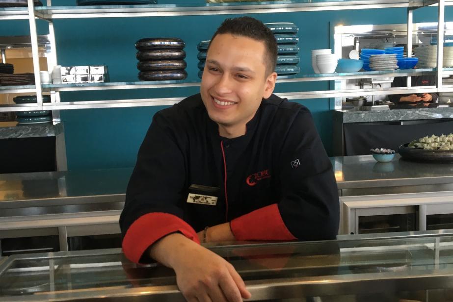 Wagner Spadacio, star du sushi chez Nobu