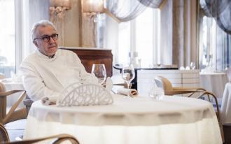 Alain Ducasse devant la caméra de Gilles de Maistre