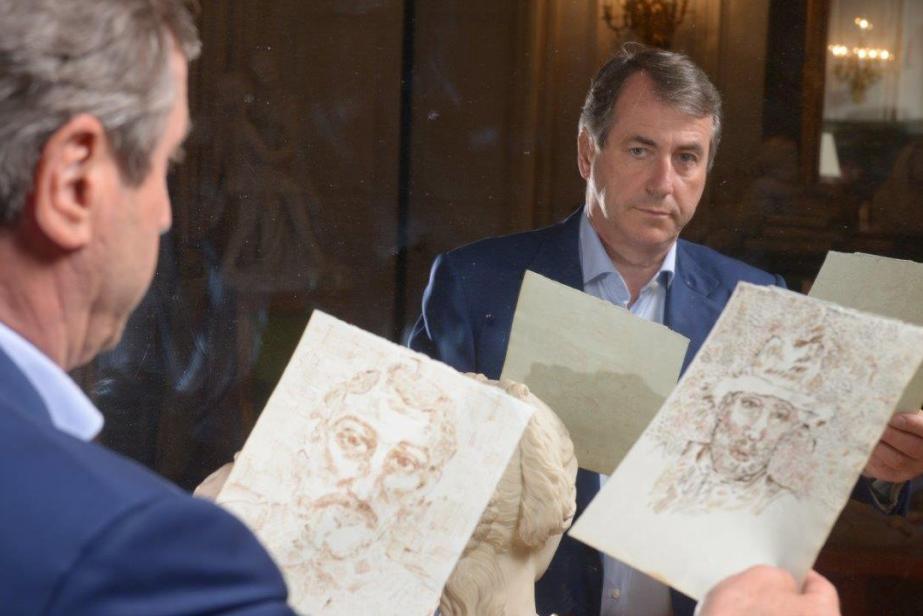 Franck Baille (HVMC) découvreur du carnet de Van Gogh