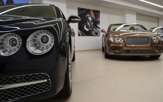 Nouveau show-room pour Bentley Monaco
