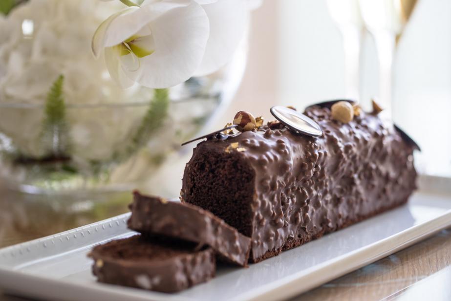 Cake au chocolat à la façon de Florent Margaillan