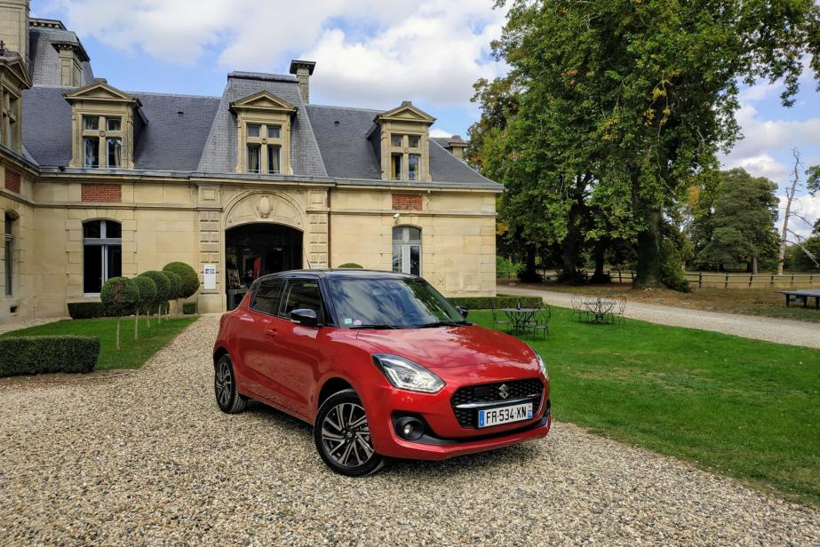Suzuki Swift Hybrid : un peu de jus en plus !
