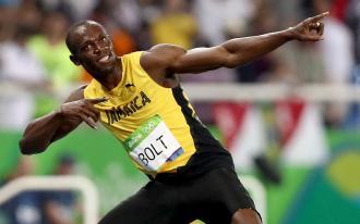 Bolt et  Lavillenie en piste à Monaco !