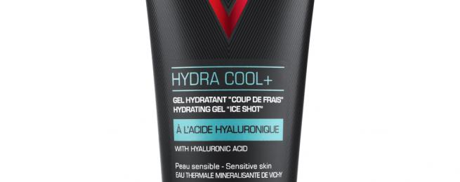 VICHY HOMME - Soin HYDRA COOL