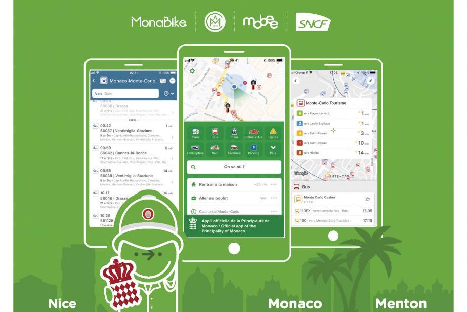 Monaco: une appli pour se déplacer malin