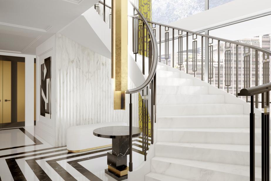 humbert poyet au c ur du 26 carr or monaco art culture t l monaco. Black Bedroom Furniture Sets. Home Design Ideas