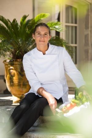 Julie Chaix au Benvengudo: tout en fraîcheur