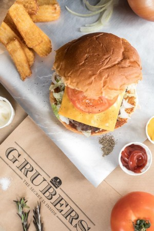 "Grubers sacré ""meilleur burger"""