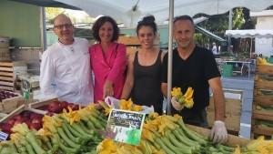 Nice : au marché avec un chef