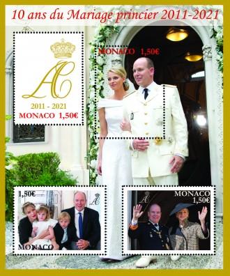 10e anniversaire du Mariage princier