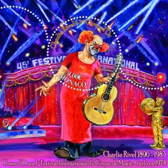 125e anniversaire du clown Charlie Rivel