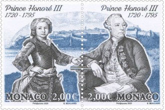 Tricentenaire du Prince Honore III