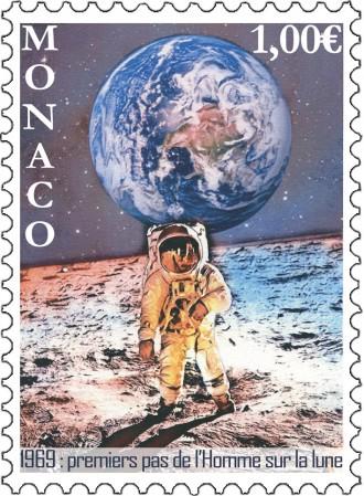 50e anniversaire des premiers pas de l'homme sur la lune