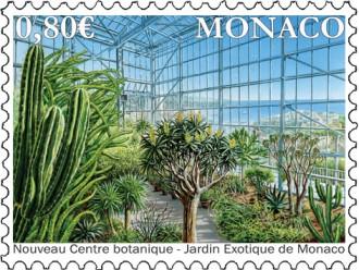 Nouveau centre botanique du Jardin Exotique de Monaco