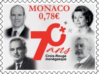 70e anniversaire de la Croix Rouge Monégasque