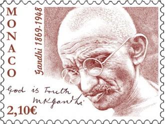 150e Anniversaire de la naissance de Gandhi