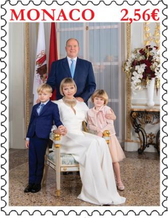 Photo officielle de la Famille Princière