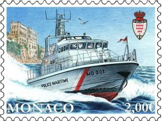 Nouvelle embarcation de la division de police maritime et aeroportuaire de Monaco