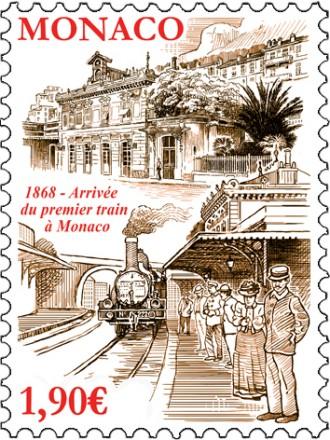 150 ANS DE L'ARRIVEE DU PREMIER TRAIN A MONACO