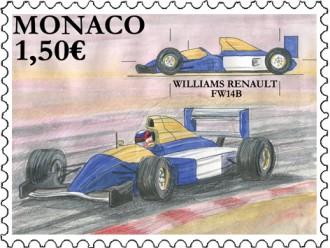 Les voitures de course mythiques Williams Renault FW14B